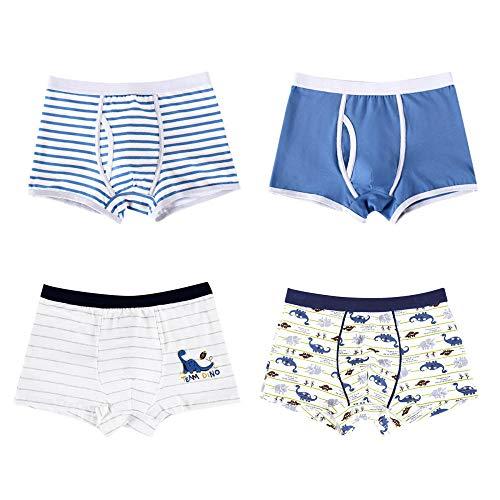 Bayrick Shorts de encaje4 Bolsas de bóxers de algodón para niños-3315B_120