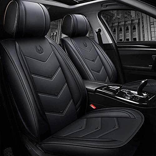 Fundas de asiento de coche de piel sintética para Citroen C4 CACTUS Universal, protector de asiento de coche delantero trasero, juego completo, personalizado, compatible con airbag de 5 asientos, impe