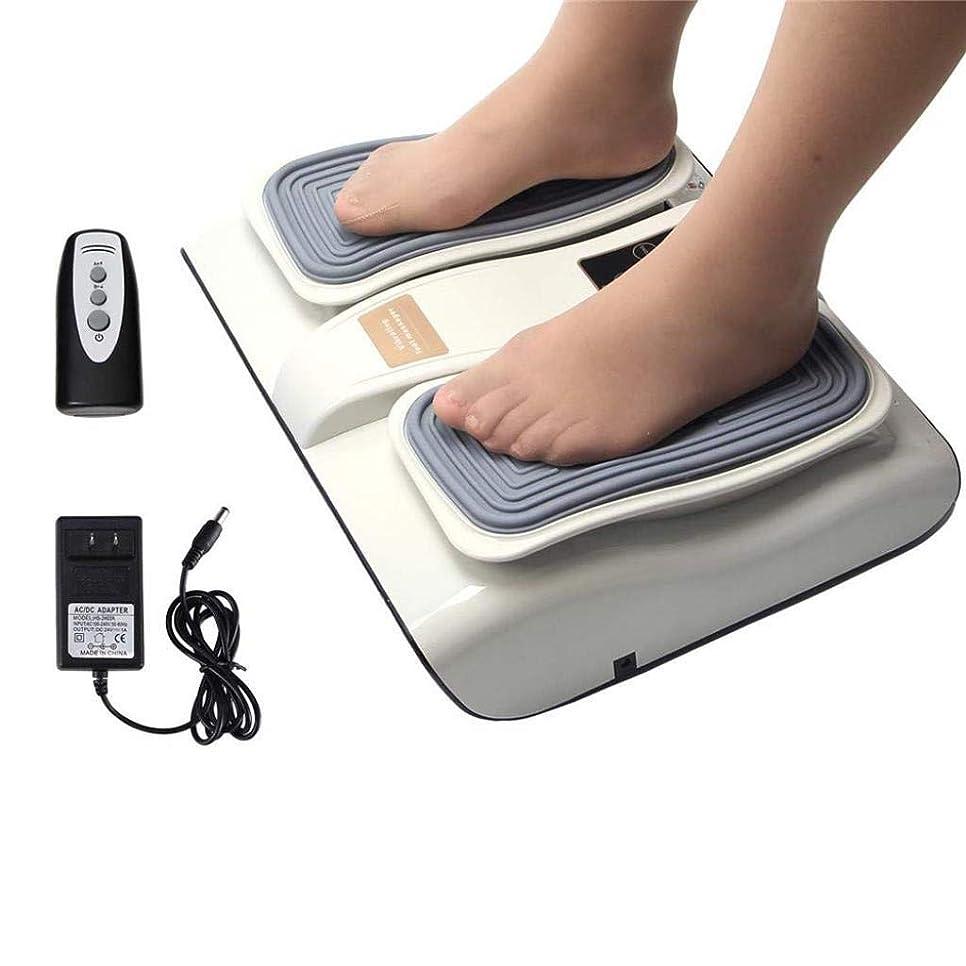応援する概してレザーフットマッサージャー、血液循環を促進し、足底筋膜炎を緩和するための電動足Footみマッサージ療法装置