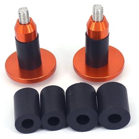 1 Paire Extr/émit/és de Barre de V/élo Bar End Sliders en Aluminium Alliage V/élo Guidon Cap pour V/élo de Route V/élo de Montagne