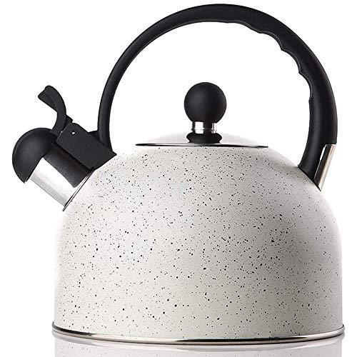 YDong Tetera Whistling Tea, Tetera de Acero Inoxidable para Estufa, Hervidor de...
