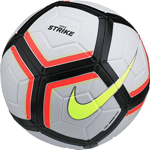 NIKE Nk Strk Team Balón de fútbol, Unisex Adulto, Blanco (White/Total Orange/Black/Volt), 5
