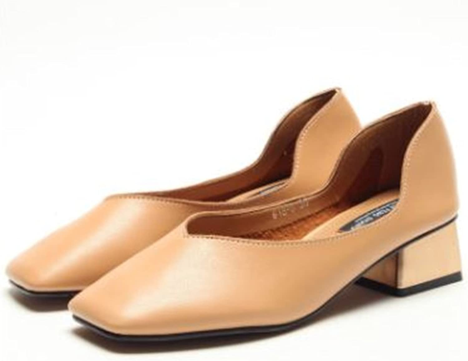 Women's Classic Squared Toe Ballet Slip On Flats shoes
