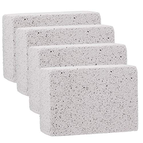 Jenngaoo Griddle Cleaner Brick, 4Pcs Barbecue Grill Griddle Cleaning Brick...