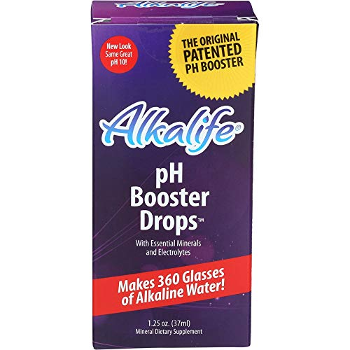 Alkalife pH Booster Drops, Purple  1.25 ounce (Foods That Create Mucus Foods That Eliminate Mucus)