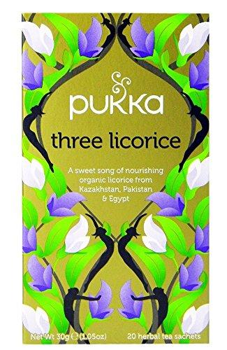 Pukka - Té de regaliz de tres orígenes - 30 g - Pack de 2 unidades