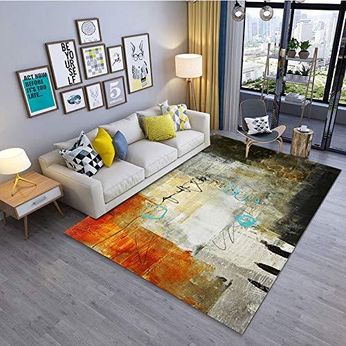 Round Ball Short-Haired Velvet Carpet Bedroom Floor Mat Living Room Cushion Coffee Table Blanket Rug 80X160CM