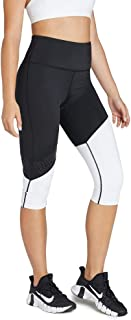 Rockwear Activewear Women's 3/4 Asymetric Blocked Logo Tight from Size 4-18 for 3/4 Length High Bottoms Leggings + Yoga Pa...