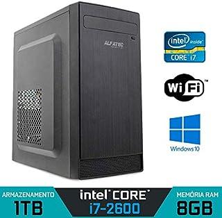 Computador Intel Core i7-2600 RAM 8GB HD 1TB Wi-fi Windows 10