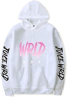 WAWNI Juice Wrld 999 Printed Black Hoodies Men/Women Plus Size XXS-4XL