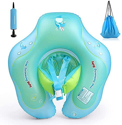 Exceed Baby Schwimmring, Aufblasbare Baby Schwimmen Float Ring, Perfekt Baby Schwimmring Schwimmtrainer Für Kinder Von 6-24 Monaten (L)