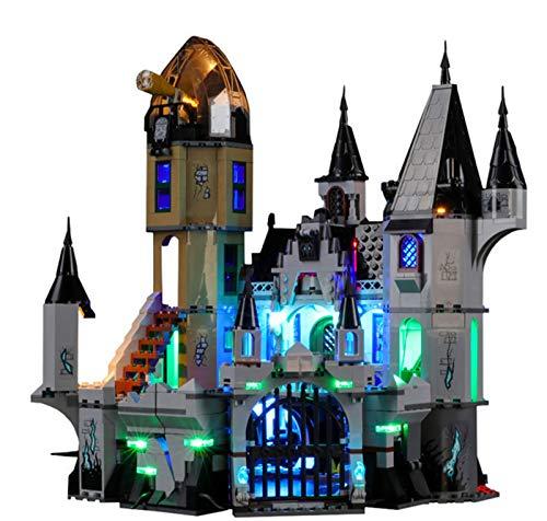 QZPM Licht-Set Für (Hidden Side Geheimnisvolle Burg) Modell - LED Licht-Set Kompatibel Mit Lego 70437(Modell Nicht Enthalten)