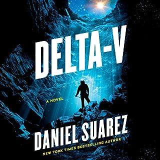 Delta-v audiobook cover art