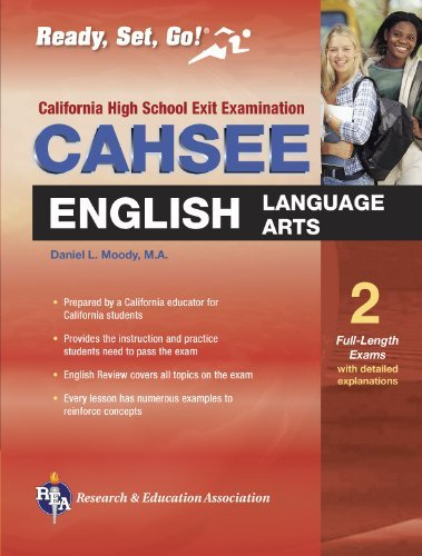 CAHSEE English Language Arts (REA) - The Best Test Prep for the California High School Exit Exam (California CAHSEE Test Preparation) (English Edition)