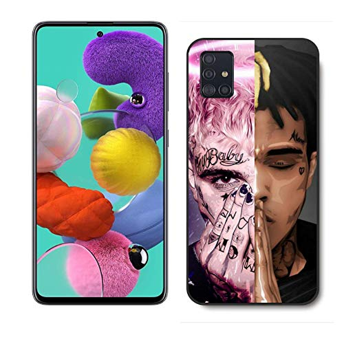 MQST Samsung Galaxy A51 case Emo Rap Lil Music Rock_Peep XXX-tentacion for Samsung Galaxy A51 Case,PC Material Hard Case Never Fade