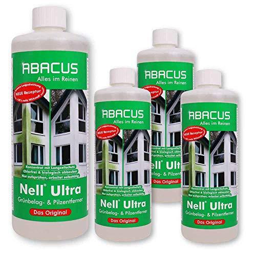 ABACUS 4X 1 L Nell Ultra Grünbelag- & Pilzentferner (7057)