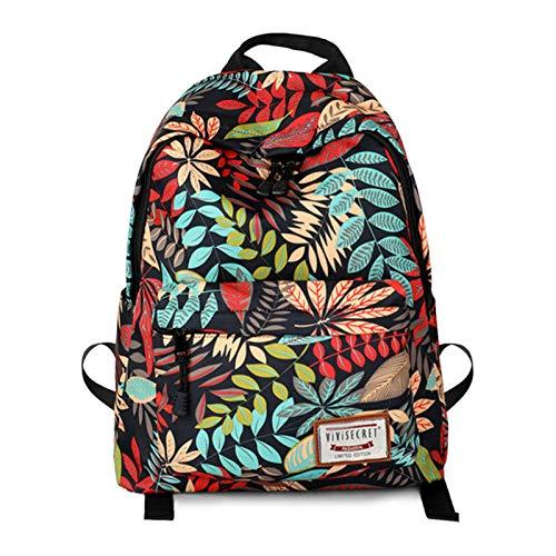 N-B Printed Backpack Primary School Schoolbag Student Cartoon Animal Spine Protection