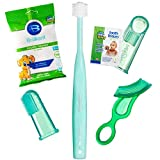 Brilliant Infant Oral Care Set by Baby Buddy, Green