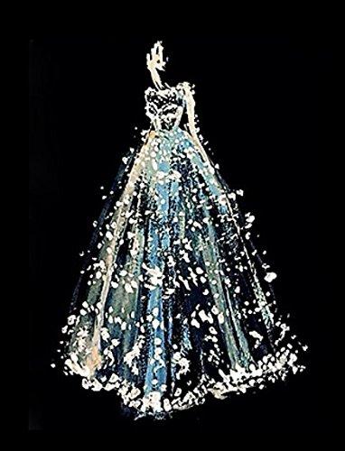 Crow's Soul 5D DIY Diamond Paintings Diamond Cross - Embroidered Diamond,Wedding Dress Made of Diamond,30x40CM