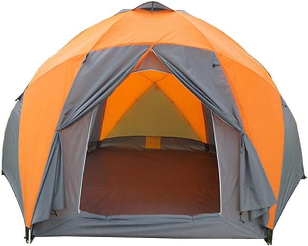 BUYGLI Tent Tentes touristiques de Loisirs Grande Tente de Camping résistant aux intempéries pour des Vacances en Famille 8-10 Personne Beach Party Double-Couche Double Couche Yourte