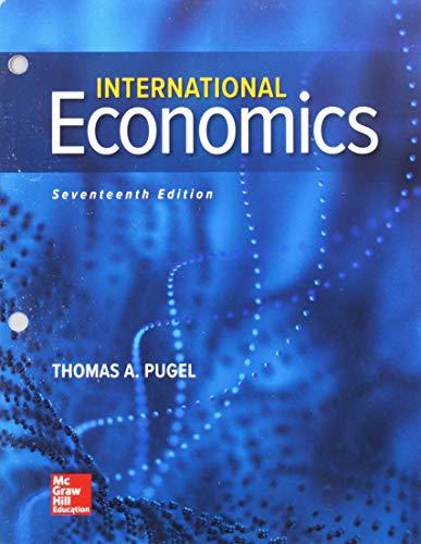GEN COMBO LOOSELEAF INTERNATIONAL ECONOMICS; CONNECT ACCESS CARD