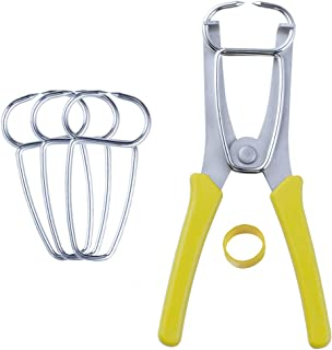 New Dihui Tool 4 Miter Clamps and Miter Spring Pliers for picture frames, Wood Trim, Moldings, Woodworking.