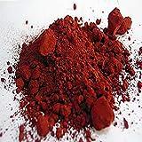 Óxido de Hierro - Iron (III) Oxide Minium - de cerámica pigmento de color de la mancha de cerámica fabricado en Alemania cerámica cerámica cerámica porcelana (40 g)