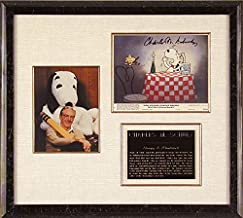 Charles M. Schulz - Photograph Signed