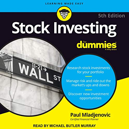 Stock Investing for Dummies, 5th Edition cover art