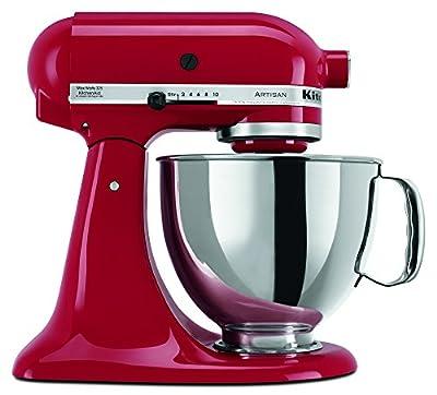 KitchenAid RRK150ER 5 Qt. Artisan Series - Empire Red (Renewed) by KitchenAid