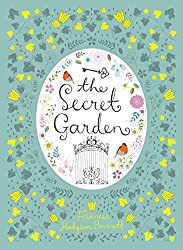 Barnes and Noble hardcover edition of The Secret Garden - floral background