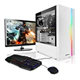 "Megaport PC-Gaming PC-Completo Intel Core i5-10400F • Schermo LED 24"" • Tastiera/Mouse • GeForce GTX1650 • 16GB DDR4 • Windows 10 • 1TB HDD • pc da gaming pc fisso desktop pc assemblato completo gaming"