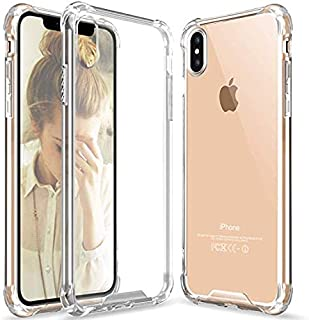Ultra Slim Soft TPU Crystal Clear Case for iPhone Xs ,X Anti-Scratch, Shockproof Cover Case