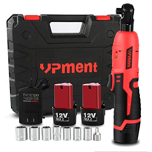 Cordless Electric Ratchet Wrench Set, 3/8