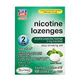 Rite Aid Mint Nicotine Lozenges, 2mg - 108 Lozenges | Mint Flavor | Quit Smoking Products | Stop Smoking Aids That Work | Quit Smoking Aid | Alternative to Nicotine Patches
