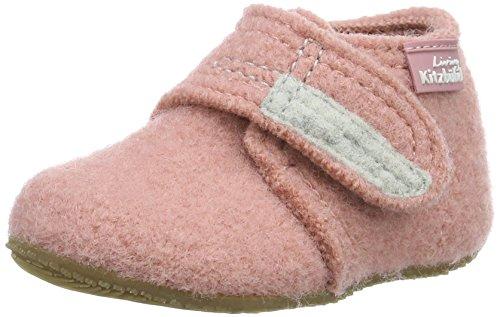 Living Kitzbühel Jungen Mädchen Babyklettschuh Krabbel- & Hausschuhe, Pink (Ash Rose 336), 22 EU