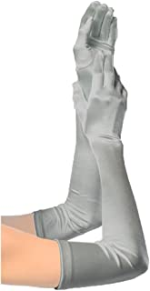 Unilove Women's Long Opera Party 20S Satin Gloves Stretchy