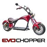 EvoChopper : Moto électrique 2000W Li-on 60V 20A.h Homologué'route'