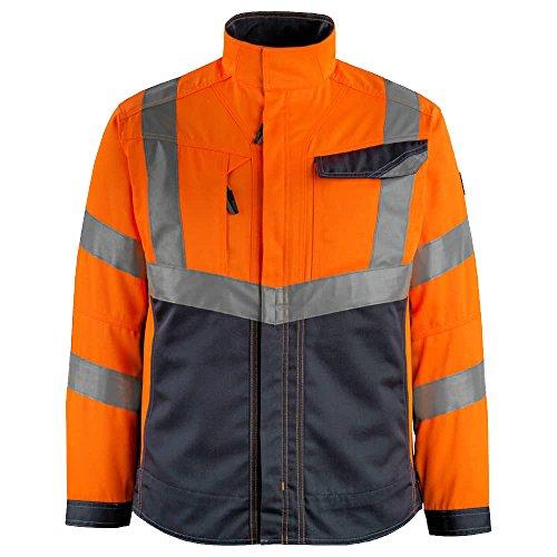 Mascot 15509-860-14010-2XL Jacket Arbeitsjacke Oxford, orange/schwarz-blau, 2XL
