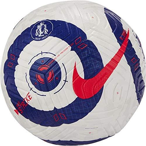 Nike Premier League Strike Size 4 Football - White and Blue