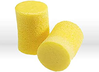 3M E-A-R Classic Earplugs, Pillow Paks, Uncorded, PVC Foam, Yellow - Includes 200 pairs per box.