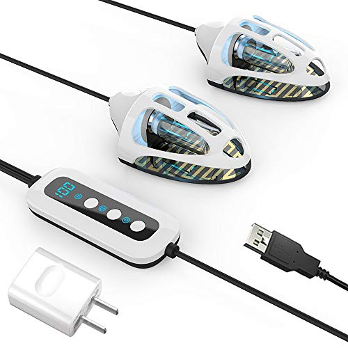 UV-Lampen Ultraviolett (UV) Schuhe Sanitizer Trockner/Desodorierer/ Stiefel Sterilisator/Tötet Zehennagelpilz UV-Licht zur Desinfektion