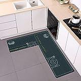 Alfombrillas Antideslizantes de Cocina, alfombras de Entrada para...