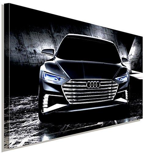 Audi Leinwandbild LaraArt Bilder Mehrfarbig Wandbild 100 x 70 cm