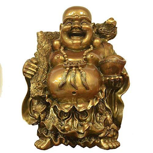ZY&ZQ Estatua Buda/Laughing Buddha/Home Feng Shui Decoració