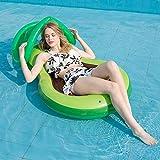 yueydengsun Hamaca inflable de aguacate de alta calidad para piscina, flotador...