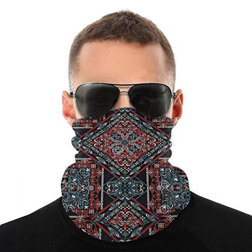 Multifuncional Facial Scarv Bike Casco Mujeres Unisex Bandana Bufanda Cara Cubierta 3D Impresión Cara Tapas Reutilizables Al Aire Libre Headwear Cool Cover