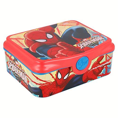 Stor SANDWICHERA Deco Spiderman Red Webs
