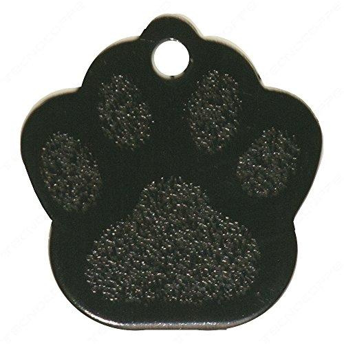 Technocoppe medaillon voor hond model Orma met ketting personaliseerbaar