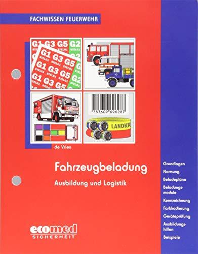 Fahrzeugbeladung: Kennzeichnungs- und Markierungssysteme - Grundlagen - Normung - Beladepläne - Beladungsmodule - Kennzeichnung - Farbkodierung - ... - Beispiele (Fachwissen Feuerwehr)